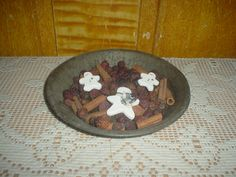 Grubby Fixins with Snowman Star   $ 5.00