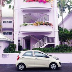 Bright Lilac Hotel in Grand Cayman /