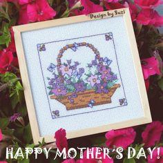 Lesley Teare - Mother´s Day Flower Basket