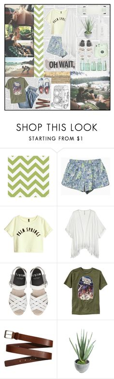 """""""Oh Wait, We're In Love"""" by nereidnymph ❤ liked on Polyvore featuring Baldwin, H&M, Cool Change, J.Jill, Old Navy, Vans, Fuji, Alöe and Roxy"""
