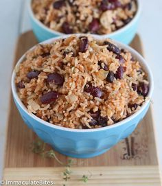 Creole Caribbean Rice and Beans