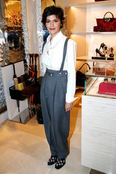 Audrey Tautou is all that and even more, because she possesses an exceptionally agreeable feminine style. Audrey Tautou, French Girl Style, French Chic, French Girls, Looks Casual Chic, Fashion Articles, Fashion Tips, Fashion Bloggers, Fashion Ideas