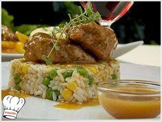 ΨΑΡΟΝΕΦΡΙ ΛΕΜΟΝΑΤΟ ΚΑΤΣΑΡΟΛΑΣ!!! | Νόστιμες Συνταγές της Γωγώς How To Cook Ribs, How To Cook Meatballs, How To Cook Shrimp, Meat Cooking Times, Fun Cooking, Cooking Recipes, Cooking Ribs, Cooking Games, Pork Tenderloin Recipes
