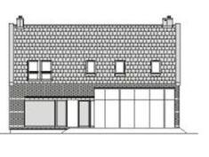 DOM.PL™ - Projekt domu DZW ATRAKCYJNY 1 CE - DOM DW1-43 - gotowy koszt budowy Concept Home, House Layouts, Dom, Floor Plans, Houses, Design, Homes, House Floor Plans