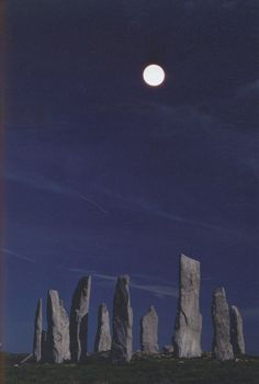 Standing Stones, Callanish, Isle of Lewis, Outer Hebrides, Scotland, UK