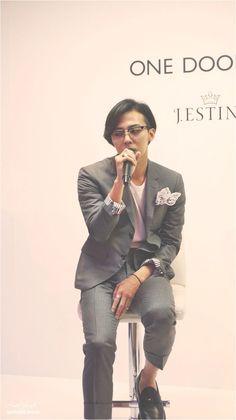 G-Dragon ♕ // J. Brand Presentation, Ji Yong, Big Bang, Head & Shoulders, Weird Fashion, Daesung, G Dragon, Most Beautiful Man, Bangs
