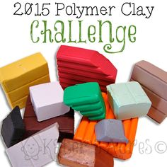 2015 Polymer Clay Challenge - plus many links on page