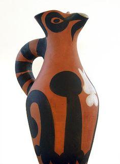 Picasso - Ceramic, Yan Pitcher, 1952