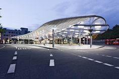 ETFE roof bus station