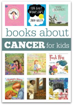 List of books about cancer for kids from @noflashcards