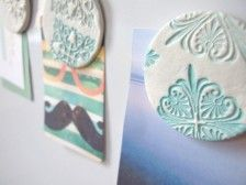 Beautiful DIY Clay Magnets