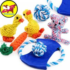 petcircle new arrivals knot pet dog toys durable flying discs knot dog toy for small and large dogs dog trainging chew toys Puppy Chew Toys, Toy Puppies, Cool Pets, Pet Beds, Pet Store, Pet Clothes, Dog Supplies, Pet Accessories, Dog Toys