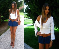 Blue (by Natalia C.) http://lookbook.nu/look/2288385-Blue