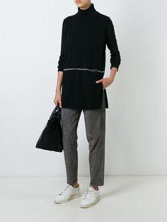 Fabiana Filippi замшевые брюки