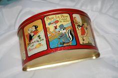 Unique Vintage Looney Tunes Tin. $8.00, via Etsy.