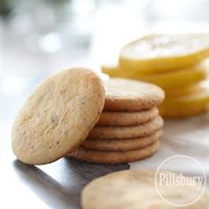 Lemon-Poppy Seed Cookies from Pillsbury® Baking