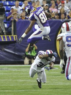 Up, Up and Away!  (Christian Ponder & Jairus Byrd)