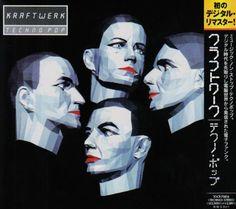 Kraftwerk Techno Pop (aka Electric Cafe) Import Vinyl Album Restored To Its Originally Intended TitleIn Kraftwerk returned from five years of Music Covers, Album Covers, Florian Schneider, Tv Movie, Trip Hop, Computer Animation, Computer Art, 80s Music, Movies