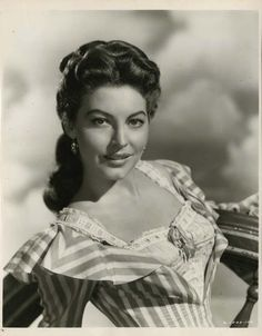 "Image detail for -Virgil Apger, Portrait of Ava Gardner in ""Show Boat"" directed by ..."