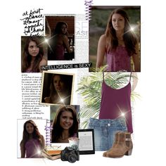 Elena - 5x04 by iced on Polyvore featuring River Island, rag & bone and Equipment