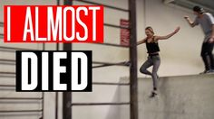 Anna Jane Jackson and Jesse LaFlair  PARKOUR CHALLENGE with JESSE LAFLAIR (I almost died!)