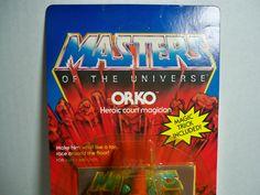 D0505371 ORKO MOTU MOC SEALED CARD VINTAGE MASTERS OF UNIVERSE YELLOW BLISTER in Spielzeug, Action- & Spielfiguren, Film, TV & Videospiele | eBay