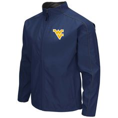 West Virginia Mountaineers Colosseum Big & Tall Carrier Full-Zip Jacket - Navy - $59.49