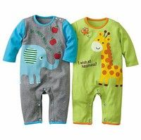 Cheap baby moonlight, Buy Quality baby clothes cartoon directly from China baby fishing clothes Suppliers: Above Cotton Kids Baby Boys Long Sleeve Romper Outfits Cotton Jumpsuit Climbing Clothes Y Cartoon Outfits, Long Romper, Long Sleeve Romper, Baby Boys, Boy Toddler, Infant Toddler, Giraffe Clothes, Baby Jumpsuit, Cotton Jumpsuit