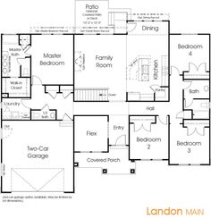 Edge homes floor plans
