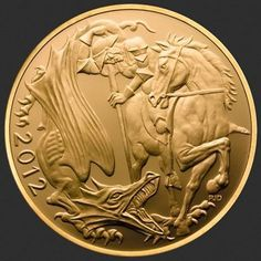 2012 Gold Sovereign from The Royal Mint  Too Cool!