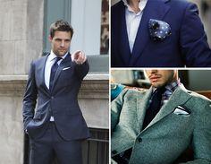Um acessório subestimado no guarda-roupa masculino é o lenço de bolso, indispensável para quem quiser caprichar no visual com um blazer ou um terno. Além de elegante, o lenço ajuda a quebrar a monotonia do paletó e, para os gordinhos, atrai os olhares para o peito, não para a barriga. Sem dúvidas, é um pequeno detalhe que faz uma grande diferença.