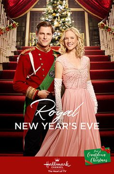 """Its a Wonderful Movie - Your Guide to Family and Christmas Movies on TV: Royal New Year's Eve - a Hallmark Channel Original """"Countdown to Christmas"""" Movie starring Jessy Schram & Sam Page! Hallmark Channel, Films Hallmark, Hallmark Holiday Movies, Hallmark Weihnachtsfilme, Family Christmas Movies, Family Movies, Sam Page, New Year Eve Movie, New Years Eve 2017"""