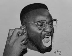 Hyper-Realistic Pencil Drawings by Arinze Stanley | Inspiration Grid | Design Inspiration