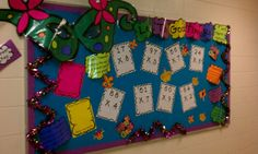 Let the good times roll with Mardi Gras multiplication! interactive bulletin board