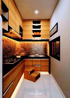 Interior Design Pantry Kitchenset - Pandu House #Arsitek #DesainInterior #Kitchenset #Architecchi