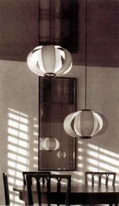 J. A. Coderch: Disa lamps, 1957