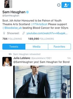 All Outlander, All Sam And Caitriona... — moduinne-and-redjamie:   Sam retweeted me