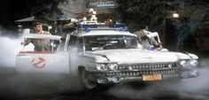 The Ectomobile from Ghostbusters