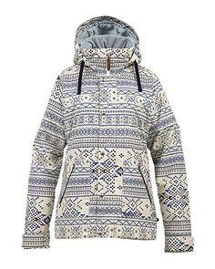 Burton Ginger Snowboard Jacket 2014 (Canvas Pixelated Fair Isle) $189.95