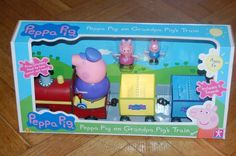PEPPA PIG ON GRANDPA'S TRAIN PLAYSET NEW 602-648-2772 Childrens Museum of Phoenix