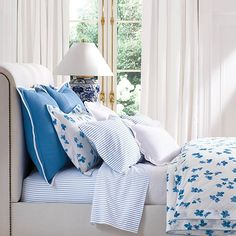Nautical Bedding, Floral Bedding, Flat Sheets, Bedding Collections, Decorative Pillows, Ralph Lauren, Cushions, Blanket, House