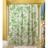 Found it at Wayfair - Rose Tonic Polyester Shower Curtain