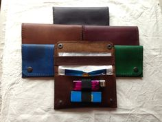 handmade leather tobacco pouch - The Supermums Craft Fair
