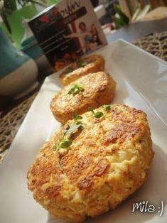 Květákové karbanátky se Šmakounem Baby Food Recipes, Baked Potato, Cauliflower, French Toast, Paleo, Food And Drink, Bread, Vegetables, Cooking