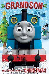 Thomas The Tank Engine Grandson Christmas Card