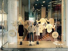 """MAX&CO., Milan, Italy, """"SALE shopping: Half the money, double the fun"""", creative/photo by Easycom & C, pinned by Ton van der Veer"""