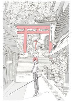 inushige:    「シティで」/「へみんぐうぇい@原稿」の作品 [pixiv] #pixitail