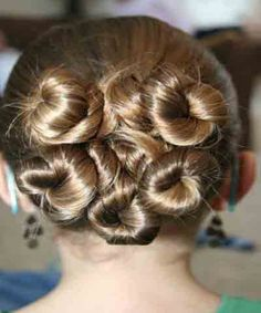 New Back Hairstyle  For Party