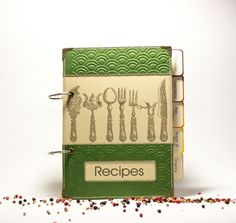 Blank Recipe Book Binder  Recipe Organizer with Zigzag Stitching &120 lined pages on Etsy, 357:14 kr