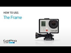 GoPro - The Frame - Smallest, lightest way to mount your GoPro #gopro (vlog?)